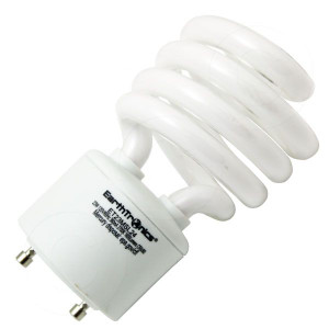 Earthtronics ET23MSL24 CF23SW24 23W GU24 CFL Twist Lock 2700K