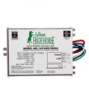Fulham High Horse H3-UNV-39HSC 39W M130 Electronic HID Ballast