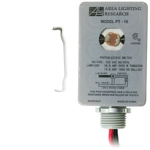 Area Lighting Research Model PT-15 Photoelectric Switch