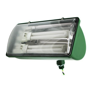 Incon 80594-26-NL Green Impact Resistant Outdoor Floodlight