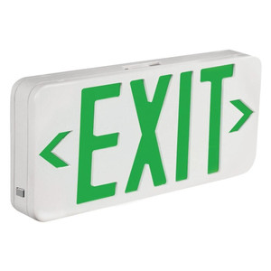 TCP 22745 LED Economy Combo Exit/Emergency Sign