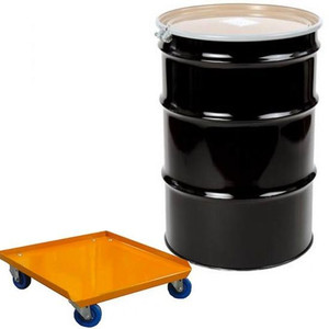 Air Cycle 55 Gallon Drum with Dolly