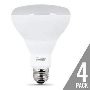 Feit Electric BR30DM65/LED/4 9W LED BR30 2700K 4-Pack