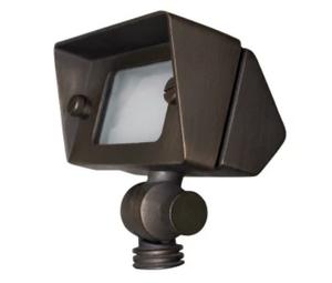 "Sunset FG2552-77 Bronze Agate Single Light 3-5/8"" Wide Integrated LED Landscape Accent Light"
