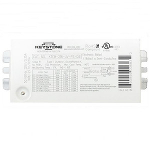 Keystone KTEB-218-UV-PS-DW 18W 1 or 2 Lamp CFL Light Ballast