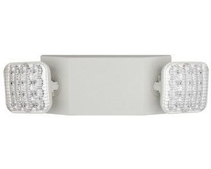 TCP LEDWELRCSDT Dual Head LED Remote Capable Emergency Light
