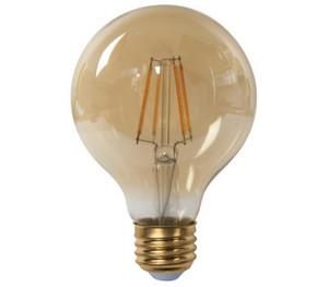TCP LFG256025KAD 5W G25 Amber LED Filament Lamp 2500K