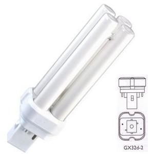 22 Watt CFL Light Bulb 5000K - PL-C 15MM/22W/850/2P - GX32d-2