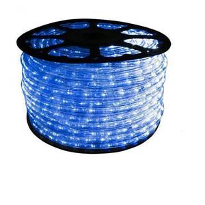 """Blue 1/2"""" LED Rope Light - 120V IFL - 15A - 150ft Reel"""