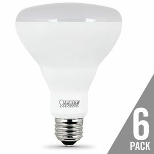 Feit Electric BR30/DM/10KLED/6 9.5W LED BR30 2700K 6-Pack