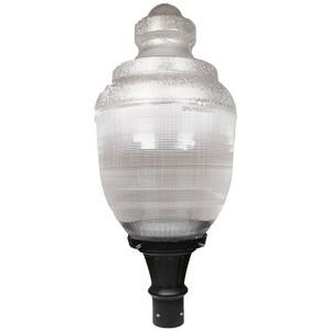 LED Post Top Street Light Acorn 20 Watt Pole Fixture 4000K 1