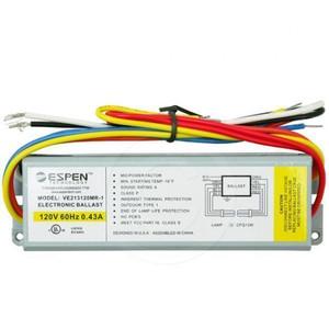 Espen VE213120MR-1 | 2 Lamp 13 Watt CFL Electronic Ballast 120V