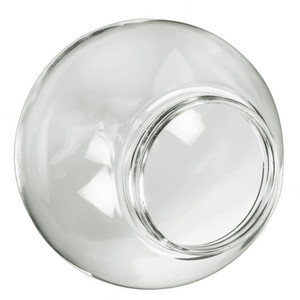 "Replacement Clear 14"" Outdoor Acrylic Post Globe Cover 6"" Lip"