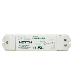 Hatch LCA012-L-UNI LED Driver 6-12W Class 2 Power Unit 350mA