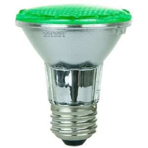 Sunlite 80002-SU PAR20/LED/4W/G 2 Watt Green