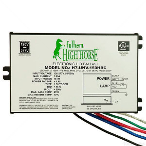 Fulham HighHorse H7-UNV-150HBC Electronic HID Ballast