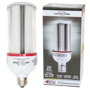 Keystone KT-LED20HID-E26-840-D HID to LED Retrofit