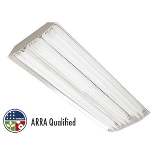 TCP EL4SA654480 4' Elite Narrow Distribution High Bay T5 Fluorescent Fixture