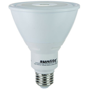 Sunlite 88057-SU PAR30L/LED/14W/FL40/DIM/ES/30K 14 Watt 3000K