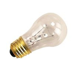 Halco 6016 Clear A15CL25 25W Incandescent Bulb