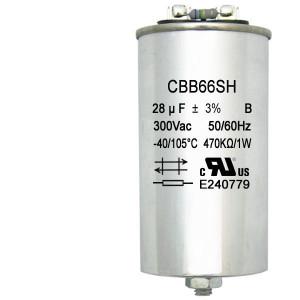 400W Pulse Start M135 300V Oil Filled 28uF Microfarad Capacitor