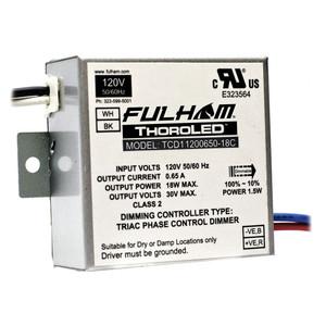 Fulham ThoroLED TCD11200650-18C Triac Dimming LED Driver