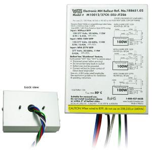 VS 188651 M10012/27CK-5EU-JT3S6 Electronic 100W MH Ballast IDTP