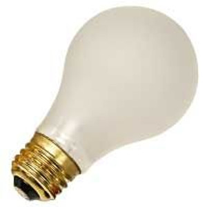Halco 6143 CoverShield A19RS100/CS 100W CoverShield Incandescent