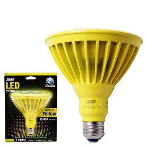 Feit Electric PAR38/Y/LEDG5 Yellow LED Weatherproof 16W Bulb
