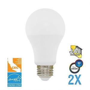 Euri Lighting EA19-4001cec-2 LED 6.5W A19 3000K 2-Pack