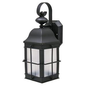 Incon Lighting 31965-23GU-41K 23 Watt CFL Black Stagecoach Light Fixture