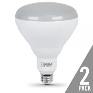 Feit Electric BR40/DM/5K/LED/2 10.5W LED BR40 5000K 2-Pack