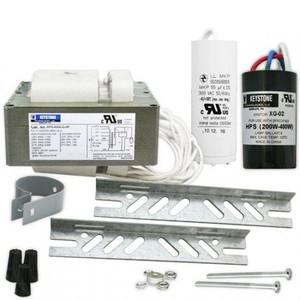 Keystone HPS-400A-Q-KIT 400W S51 HPS HID Ballast Kit Quad Tap