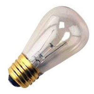 Halco 9051 Clear S14CL11 11W Incandescent Bulb