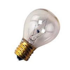 Halco 7017 Clear S11CL75 7.5W Incandescent Bulb