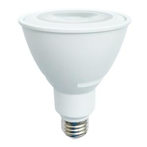 Halco PAR30FL11L/930/WH/LED 3000K LED PAR30 Line Voltage Bulb