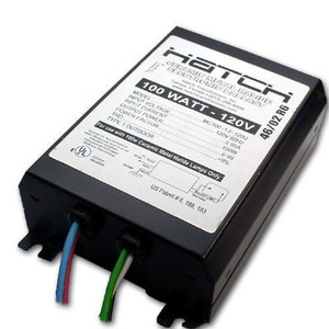Hatch MC100-1F-120U Ceramic Metal Halide Ballast 100W 120V