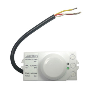 Microwave Occupancy Motion Sensor for Light Fixtures