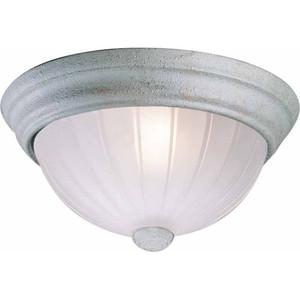 Volume V7822-85 2-light Platinum Rust Flush Mount Ceiling Fixture