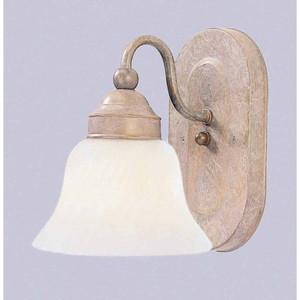 Volume V1661-22 1-light Prairie Rock Bathroom Wall Sconce