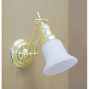Volume V1610-2 1-light Polished Brass Bathroom Wall Sconce