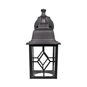 Euri Lighting EOL-WL05BLK-1030e Outdoor Wall Lantern