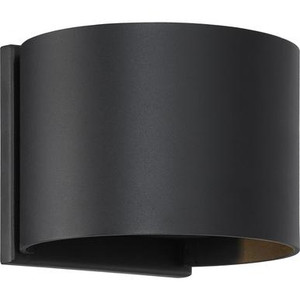 Nuvo 62-1464 Black Wall Mount Fixture
