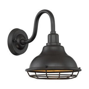 Nuvo 60-7011 Dark Bronze and Gold Wall Mount Fixture