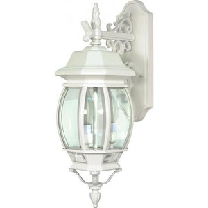 Nuvo 60-891 White 3 Light Wall Mount Fixture