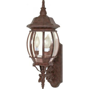 Nuvo 60-889 Old Bronze 3 Light Wall Mount Fixture