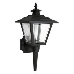 Black GU24 Coach Outdoor Wall Lantern