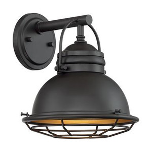 Nuvo 60-7071 Dark Bronze and Gold Wall Mount Fixture