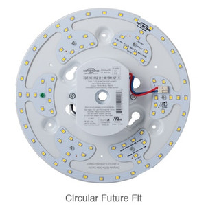 "Keystone 8"" Circular LED Light Kit Power and Color Select"
