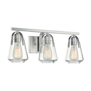 Nuvo 60-7113 Brushed Nickel 3 Light Wall Mount Fixture